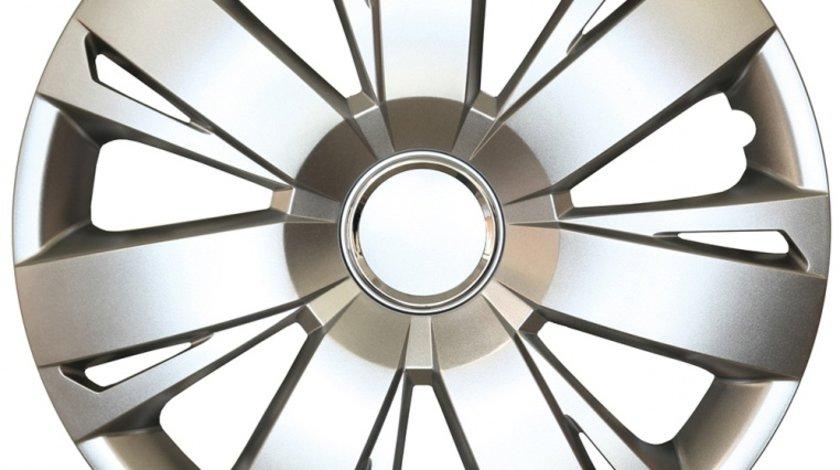 Capace roata 16 inch tip Vw, culoare Silver 16-411