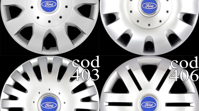 Capace roti 16 Ford Focus, Mondeo, Galaxy, B-Max, C-Max, S-Max