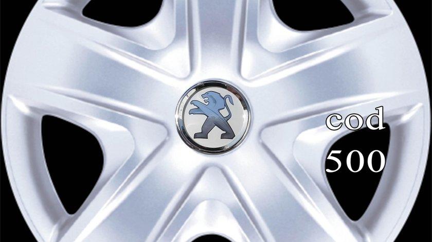 Capace roti 17 Peugeot – Imitatie Jante aliaj – Livrare cu verificare