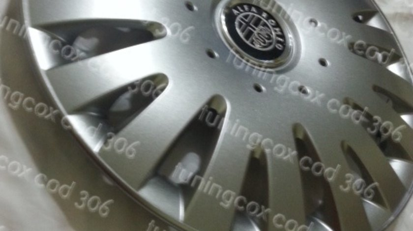 Capace roti Alfa Romeo r15 la set de 4 bucati cod 306