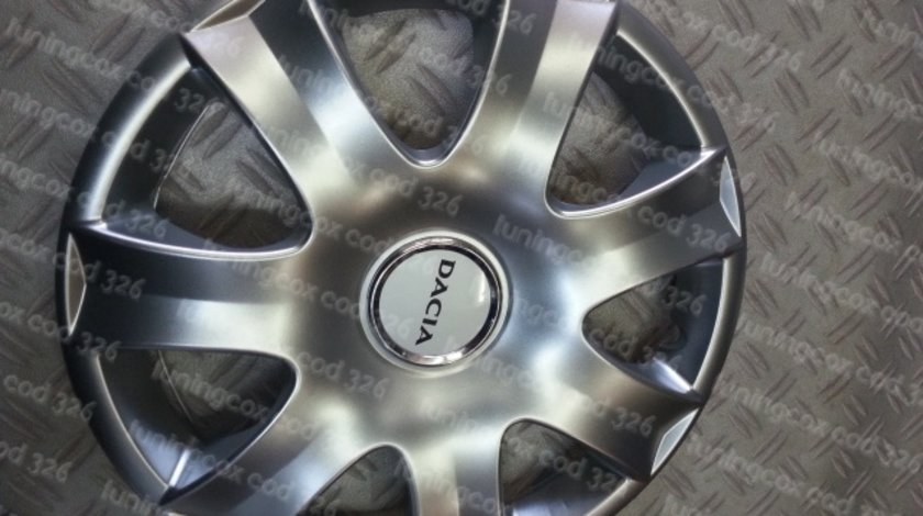 Capace roti Dacia r15 la set de 4 bucati cod 326