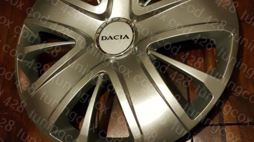 Capace roti Dacia r16 la set de 4 bucati cod 428
