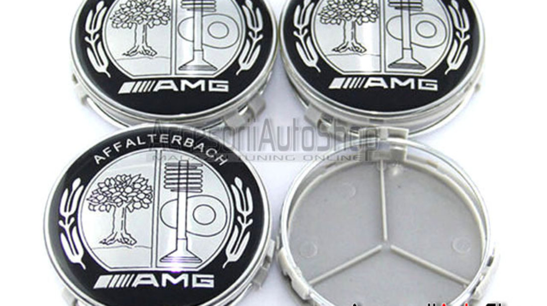 Capace roti Mercedes AMG DESIGN Black and White