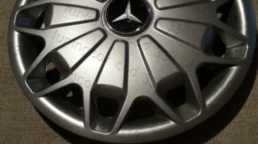 Capace roti Mercedes r15 la set de 4 bucati cod 338