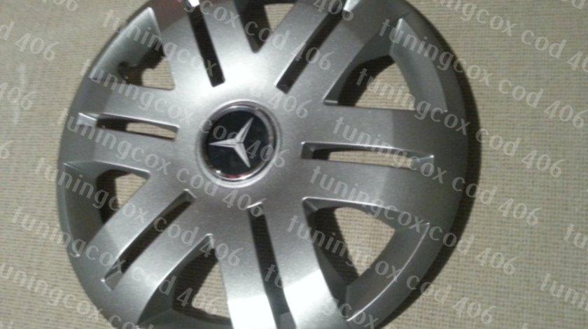 Capace roti Mercedes r16 la set de 4 bucati cod 406