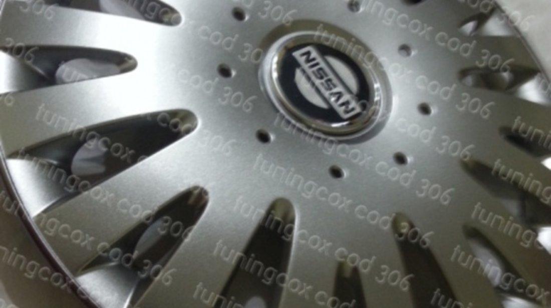 Capace roti Nissan r15 la set de 4 bucati cod 306