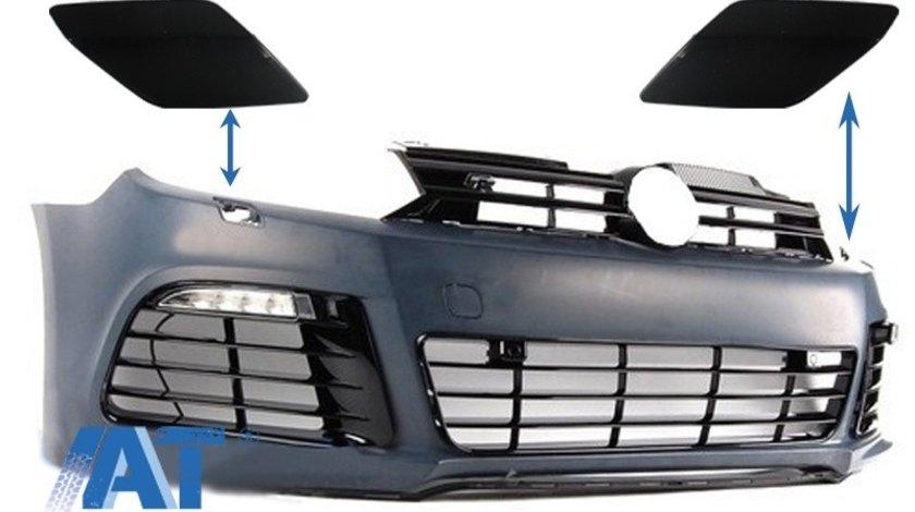 Capace Spalatoare Faruri Bara Fata compatibil cu VW Golf VI 6 (2008-2013) R20 Look