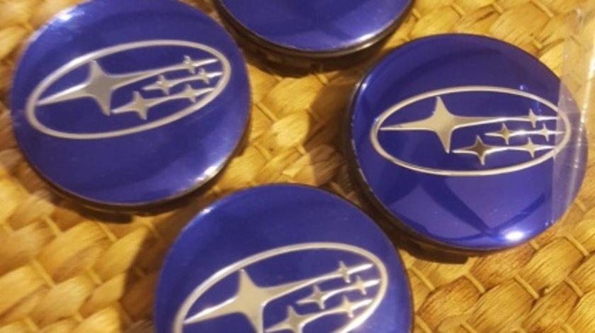 Capace Subaru janta de aliaj albastre