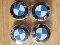 Capacele centrale NOI ORIGINALE pentru jante aliaj BMW 68 mm cu 10 picioruse