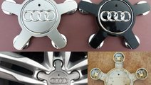 Capacele jante Audi A3 A4 A5 A6 A8 tip stea / ghea...