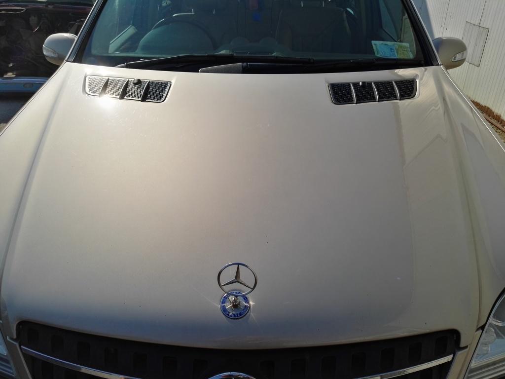 Capota Mercedes ML 320 cdi W164