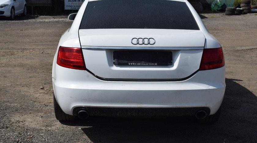 Capota portbagaj Audi A6 C6 2007 berlina alb LY9C 623