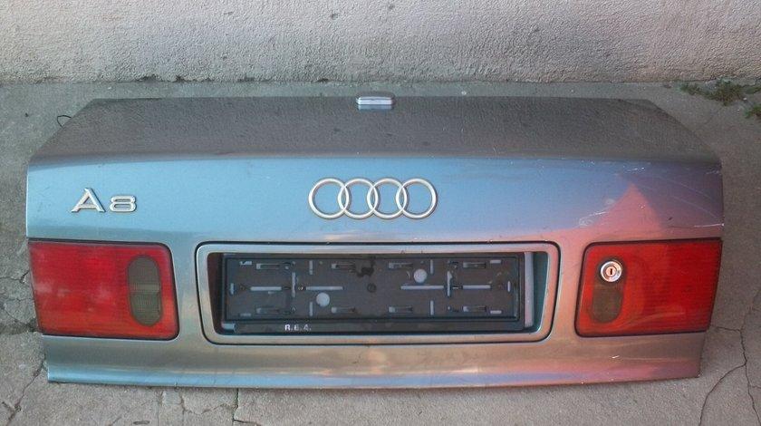 Capota portbagaj Audi A8 anii 1997 - 2003 completa cum se vede in imagine