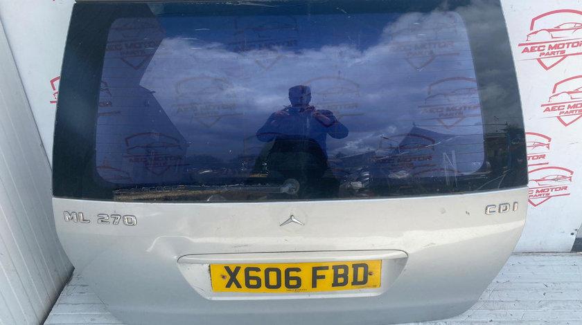 Capota Portbagaj Haion cu luneta Mercedes Benz ML W163 270cdi 320cdi gri