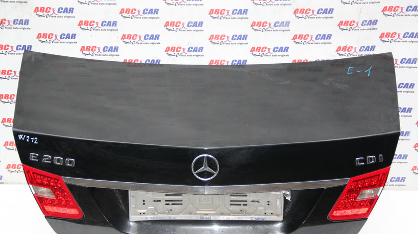 Capota spate Mercedes E-Class W212 2010-2016