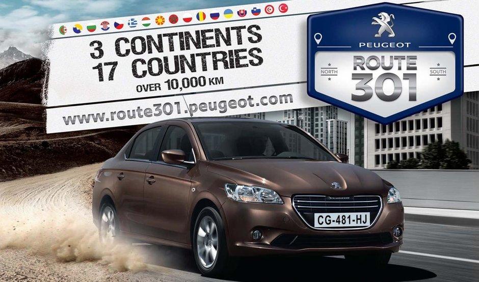 'Caravana 301': o aventura de peste 10.000 km la lansarea internationala si on-line