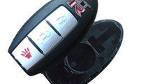 Carcasa cheie 2 + butoane Nissan GRT, cod Crcs721 ...