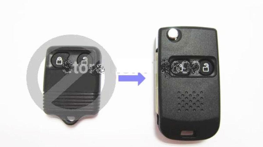 Carcasa cheie 2 butoane transformare Ford, cod Crcs430 - CC282696