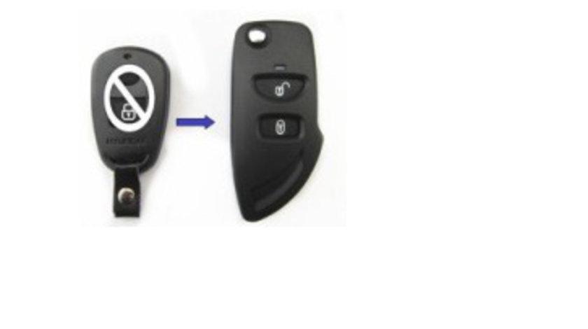 Carcasa cheie 2 butoane transformare Hyundai Elantra, cod Crcs577 - CC282848