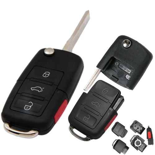 Carcasa cheie Audi A8, 3+1 butoane, cod Crcs162 - CCA82403