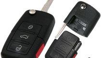 Carcasa cheie Audi A8, 3+1 butoane, cod Crcs162 - ...