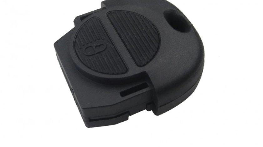 Carcasa cheie auto corp cu 2 butoane NI-114, compatibil Nissan