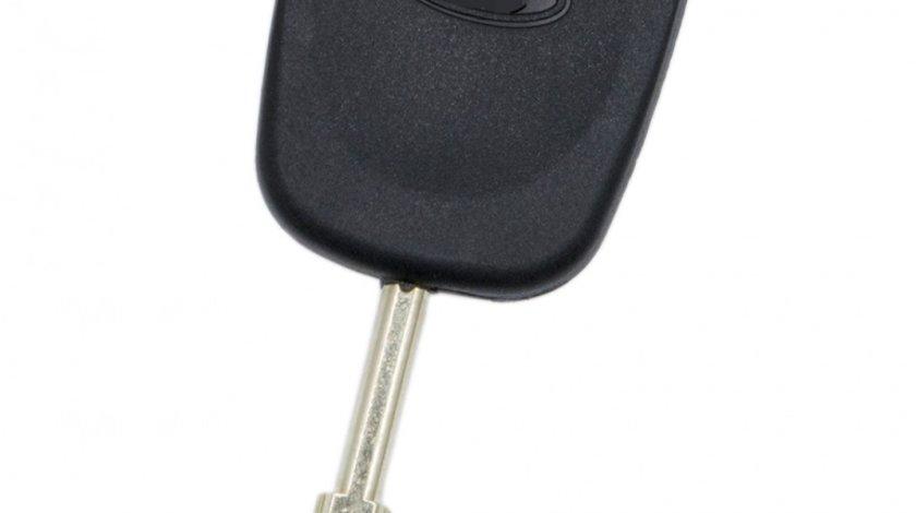 Carcasa cheie auto FO-108 cu loc pentru cip, compatibil Ford