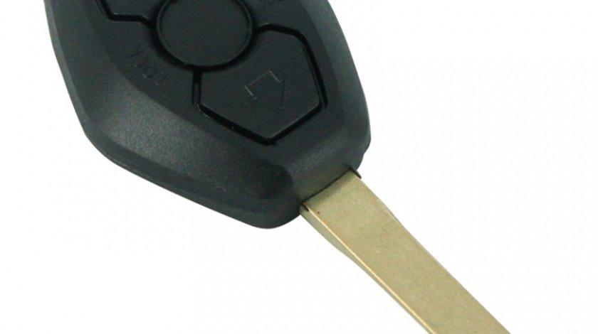 Carcasa cheie BMW Seria 3 5 7 Z3 Z4 X3 X5 M5 325i E38 E39 E46, , model cu 3 butoane, cu lamela cu 4 piste Kft Auto