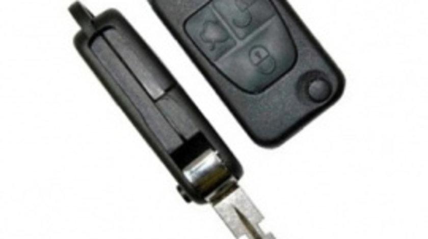 Carcasa Cheie Briceag Mercedes 3 butoane 4 track - CCB27046