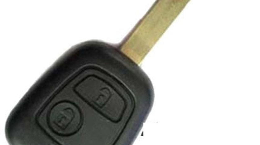 Carcasa cheie Citroen 307 2 butoane, lamela dreapta, cod Crcs334 - CCC82598