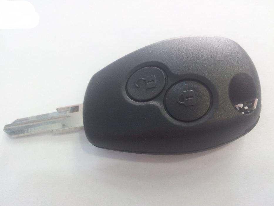 Carcasa cheie logan cu 2 butoane si lama