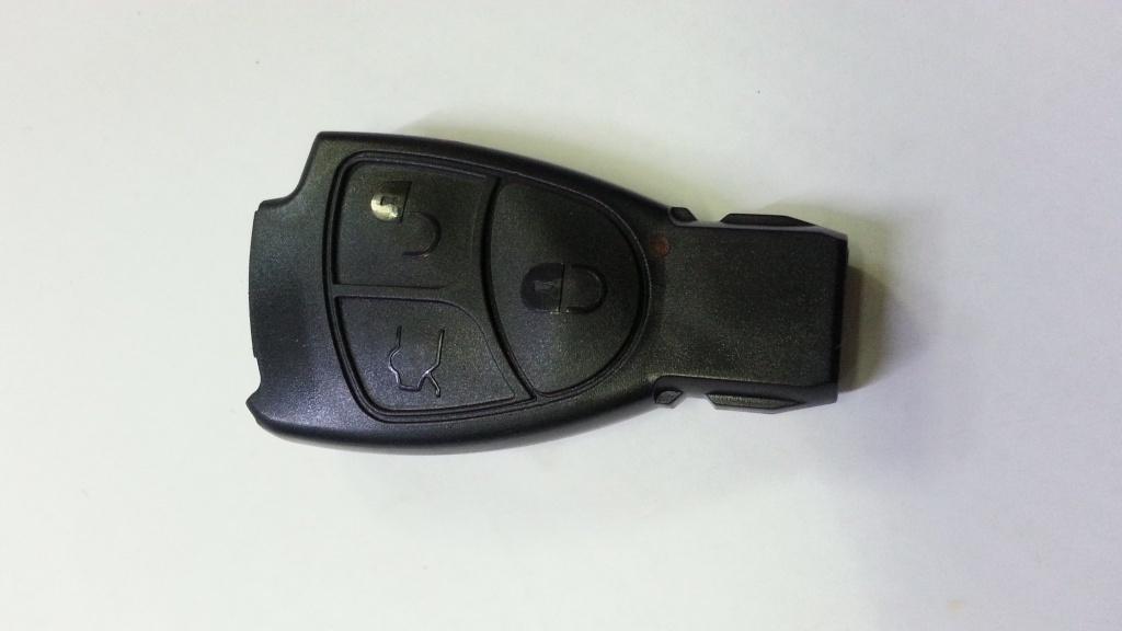 Carcasa cheie logan cu 2 butoane
