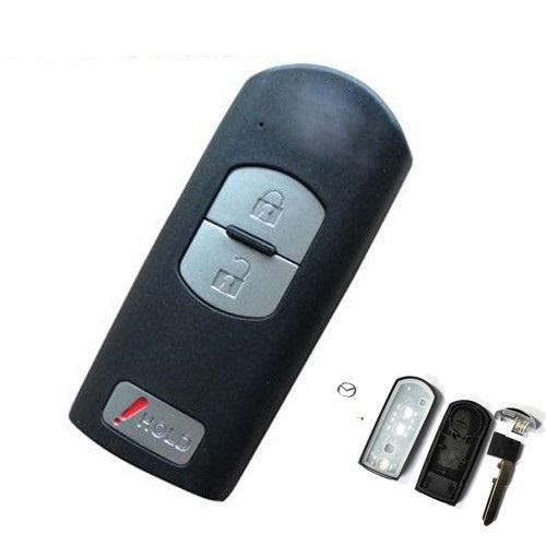 Carcasa cheie telecomanda 2 + 1 butoane Mazda, cod Crcs650 - CCT82927