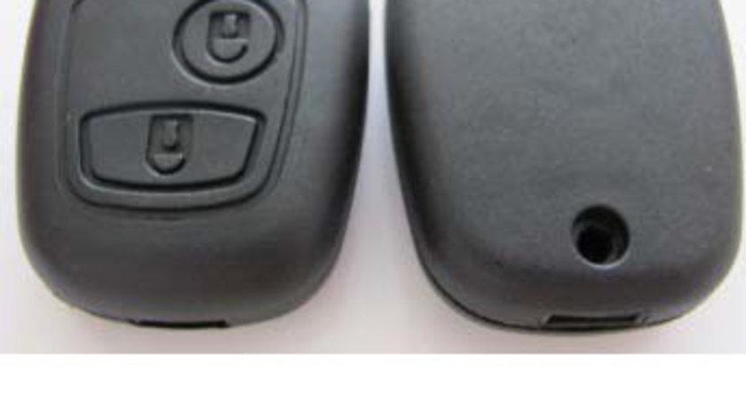 Carcasa cheie telecomanda 2 butoane Peugeot 206, cod Crcs795 - CCT83081