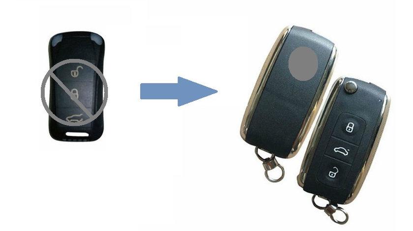 Carcasa cheie telecomanda 3 butoane Porsche, cod Crcs828 - CCT83122