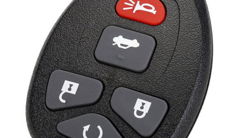 Carcasa cheie telecomanda auto Chevrolet, Pontiac, Cadillac, cu 5 butoane