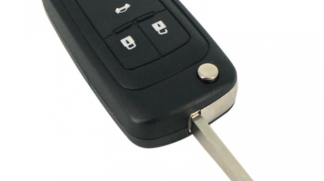 Carcasa cheie tip briceag Opel Astra Insignia, model cu 3 butoane Kft Auto