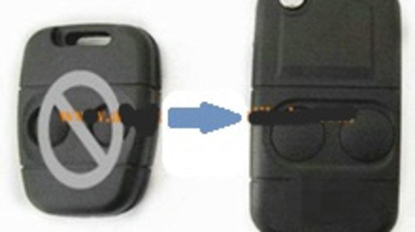 Carcasa cheie transformare 2 butoane Land Rover, cod Crcs639 - CCT82916