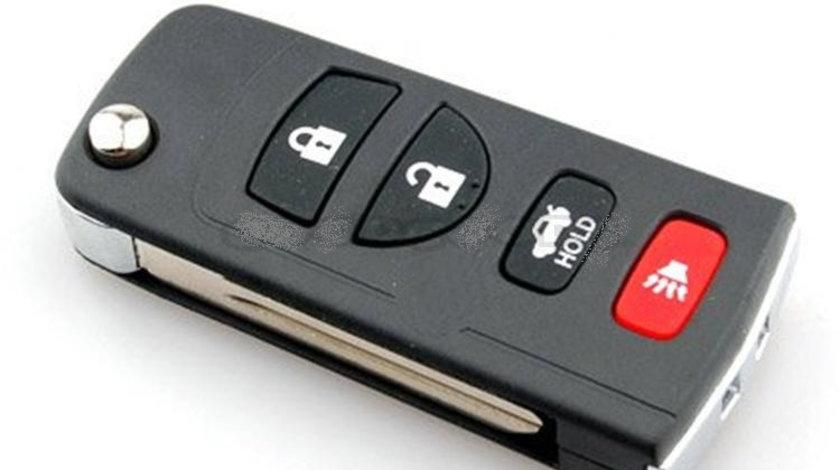 Carcasa cheie transformare 3 + 1 butoane Nissan, cod Crcs729 - CCT83009