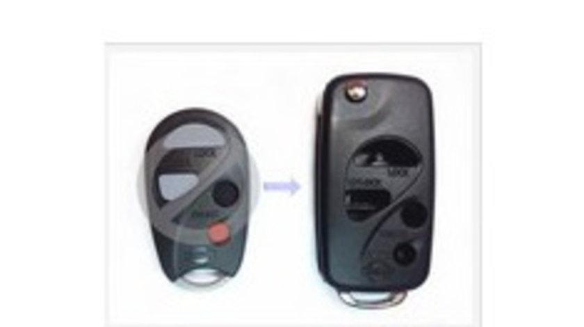 Carcasa cheie transformare 3 + 1 butoane Nissan, cod Crcs732 - CCT83012