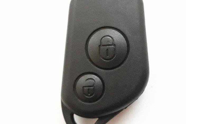 Carcasa corp cheie auto cu 2 butoane, compatibil Peugeot PE-140