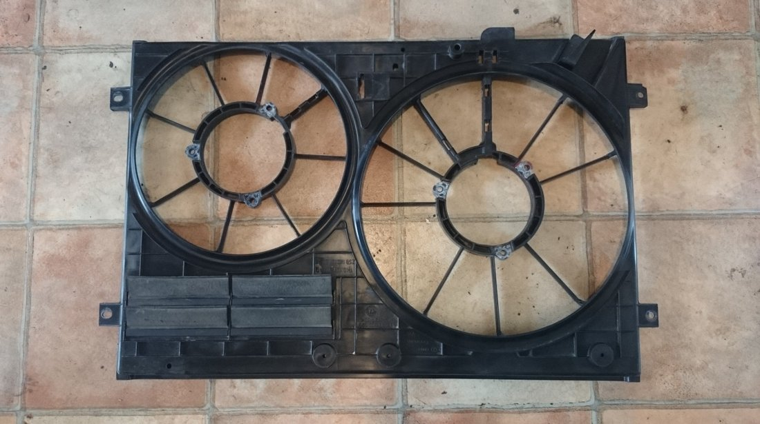 Carcasa Electroventilator VW AUDI SEAT SKODA pentru motoare TDI cod 1K0121207A, 1K0121205S