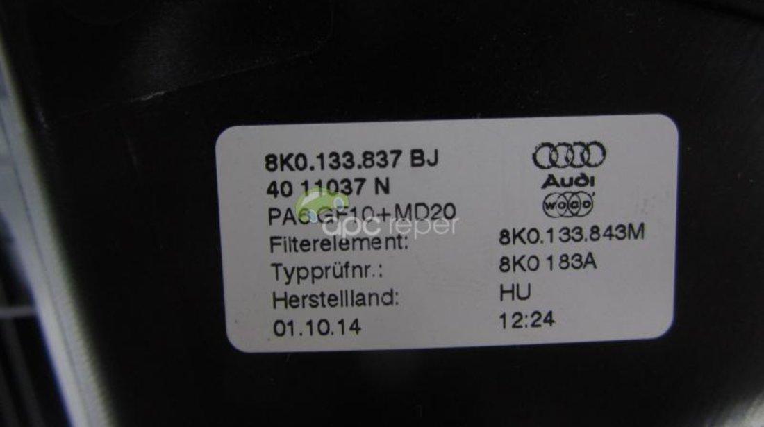 Carcasa Filtru Aer Audi A4 8K A5 2,0TFSI cod 8K0133837Bj
