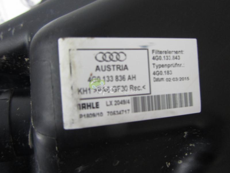 Carcasa Filtru Aer Audi S6,S7 4G Facelift cod 4G0133836AH