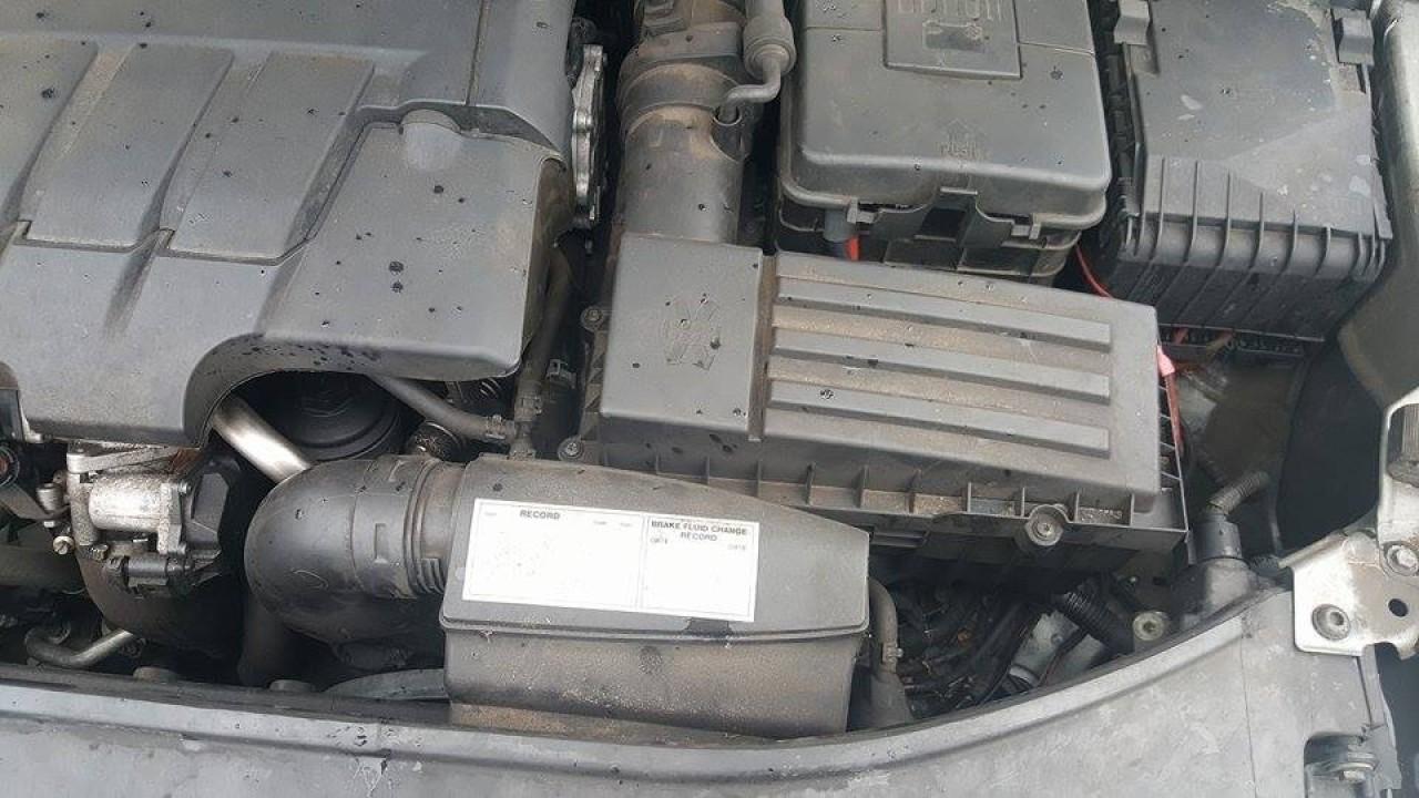 Carcasa filtru aer cu tubulatura skoda superb II 2.0 tdi cbbb