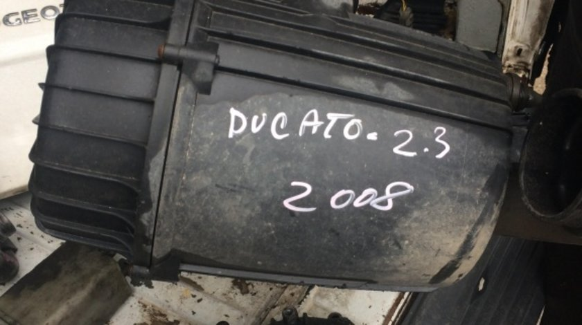 Carcasa filtru aer fiat ducato 2.3jtd, 88kw/120cp, 2006-2012, cod motor F1AE0481D