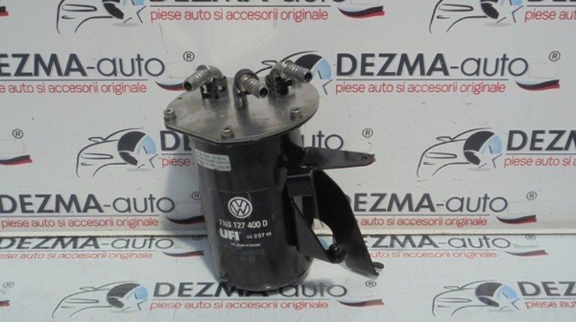 Carcasa filtru combustibil 7N0127400D, 7N0127399AC, Seat Alhambra (710) 2.0tdi, CUVA