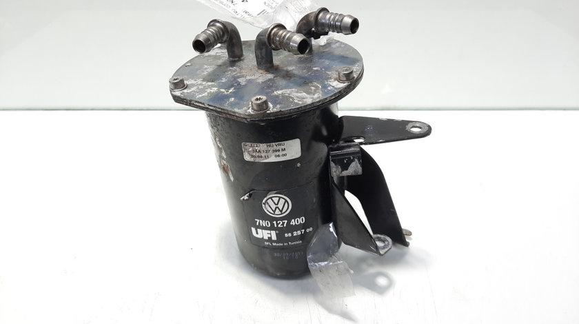 Carcasa filtru combustibil, cod 7N0127400, Vw Passat Variant (365) 2.0 TDI, CFF (id:496751)
