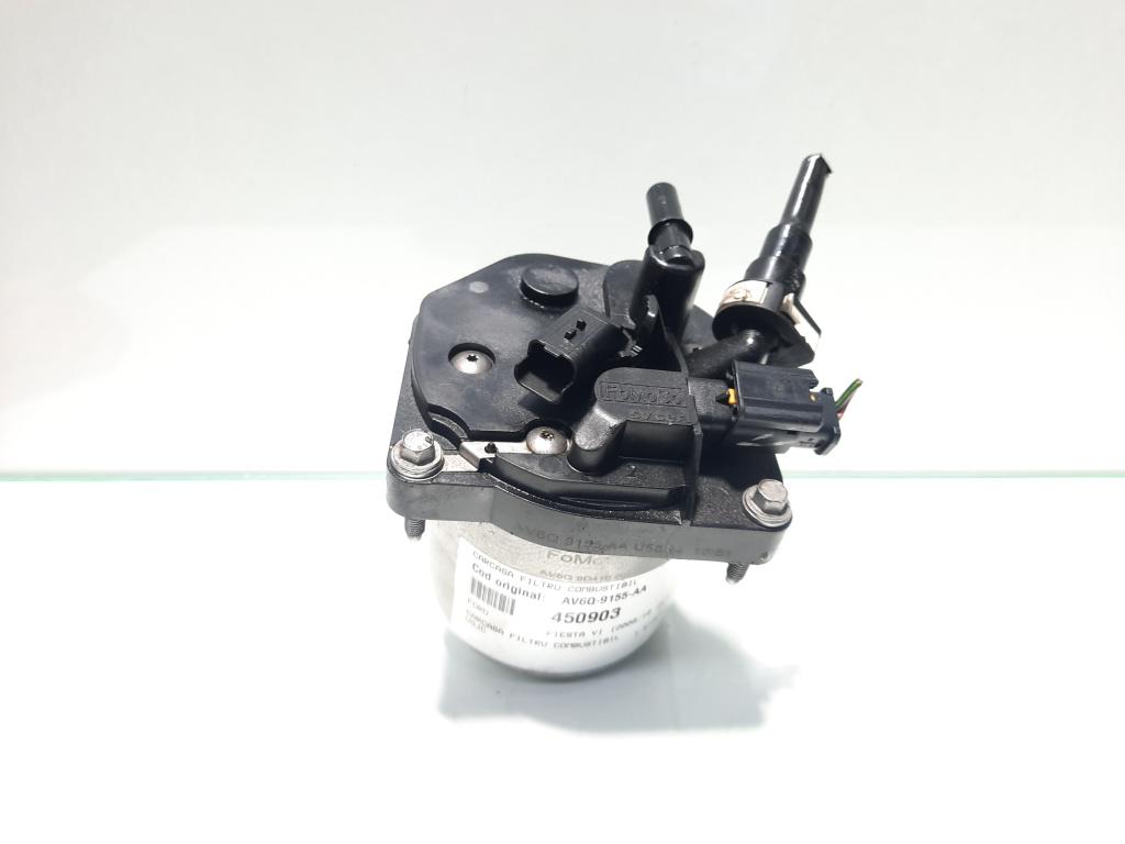 Carcasa filtru combustibil, Volvo, 1.5 d, D4164T, cod AV6Q-9155-AA