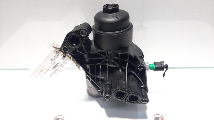 Carcasa filtru ulei cu racitor, Skoda Octavia 3 (5E3) [Fabr 2012-prezent] 03N115389A, 03N117021 (id:440892)